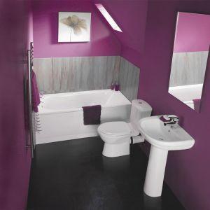 Orta Bathroom Suite with 1500 Bath - Small Bathroom Suites - Bathroom Suites