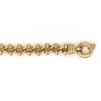 Buy our Australian made 9ct Gold Fancy Gate Chain - - Shepparton online. Explore our range of custom made chain jewellery, rings, pendants, earrings and charms.