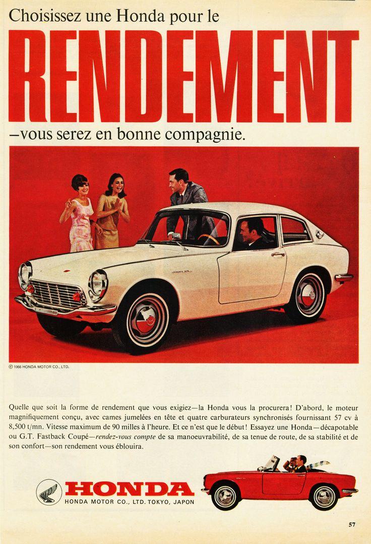 1966 Honda S600