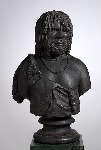 Woureddy, an Aboriginal chief of Van Diemen's Land 1835  Hobart, Tasmania, Australia.