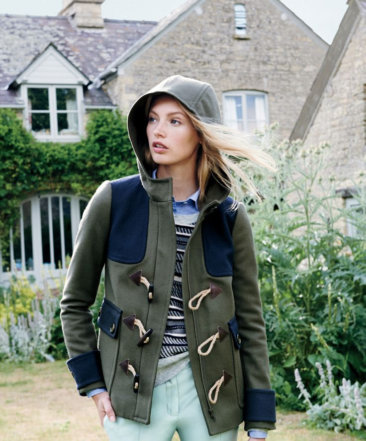 j. crew patched jacket.