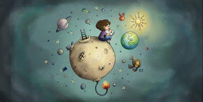Brin on the moon