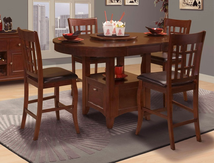 Versailles Oval Pub/Gathering Table With Storage Base By New Classic   Becku0027s  Furniture   Pub Table Sacramento, Rancho Cordova, Roseville, California