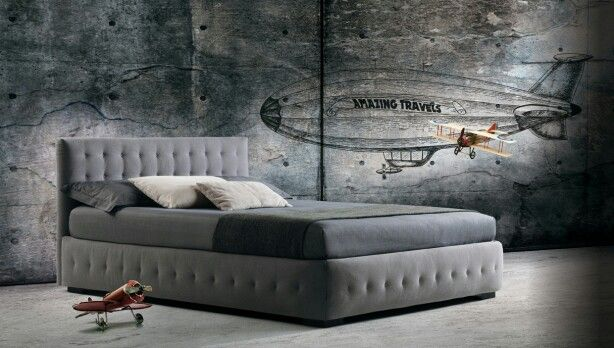 Phuket feature a thick quilting on base and headboard. Milano Bedding http://www.milanobedding.it/