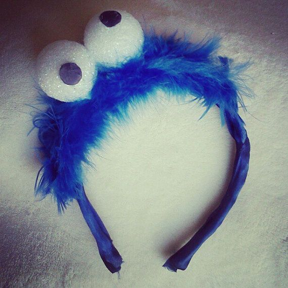 Sesame Street Inspired Headband by HookYaUp on Etsy, $10.00