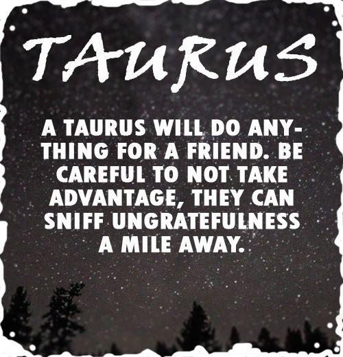 taurus fun facts | Tumblr