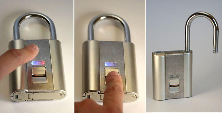 Finger Print Pad Lock | Cool Material