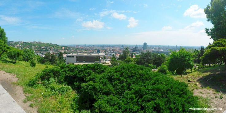 SLAVIN MEMORIAL - WelcomeToBratislava | WelcomeToBratislava - view on the city from the hill