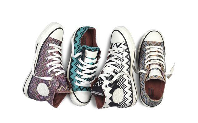 Zig - zag a tus pies con las zapatillas Converse y Missoni - El Señor de las Gafas Amarillas