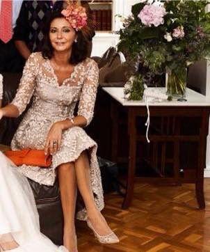 Vestido de fiesta, invitada, madre de Novia, diseñador Manuel de Vivar, Alta Costura, www.manueldevivar.com www.bodasytendencias.com