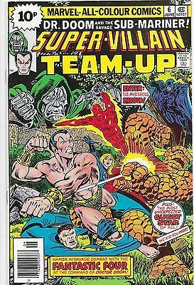 Super Villain Team Up 6 DrDoom Sub Mariner Marvel Comics