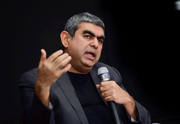Infosys Q4 Numbers Disappoint, CEO Sikka Still Aspires to Reach $20B by 2020 Infosys CEO Vishal Sikka addressing a press conference to announce the annual financial results of the company, at its headquarters, in Bengaluru, April 13. (Shailendra Bhojak/PTI)    @Siliconeer #Siliconeer #India #Infosys #VishalSikka #TiESV #Tech – Infosys, India's second-biggest software exporter, April 13, announced plans to return Rs 13,000 crore from its cash http://siliconeer.com/current/