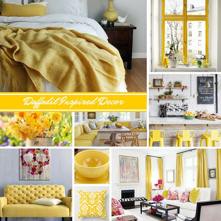 spring is right around the corner are so are its blooms its time to de winterize your dcor and liven your spaces with some bloom inspired spring dcor - Pictures Of The Color Yellow