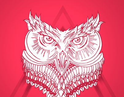 """Check out new work on my @Behance portfolio: """"Owl"""" http://on.be.net/1IOgGhf"""