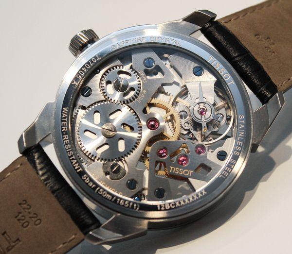 Tissot T Complications Squelette Modern Skeletonized Watch Hands On   tissot $2k