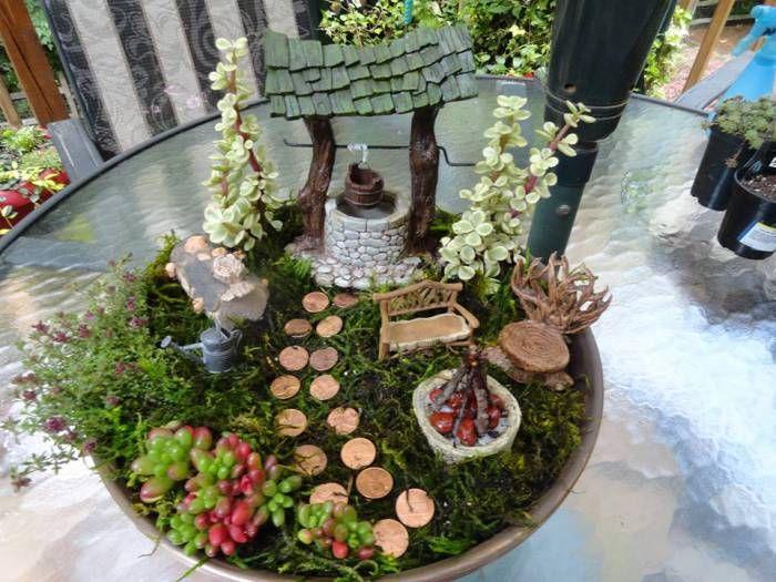 Gnome Garden: 17 Best Images About Fairy Garden On Pinterest