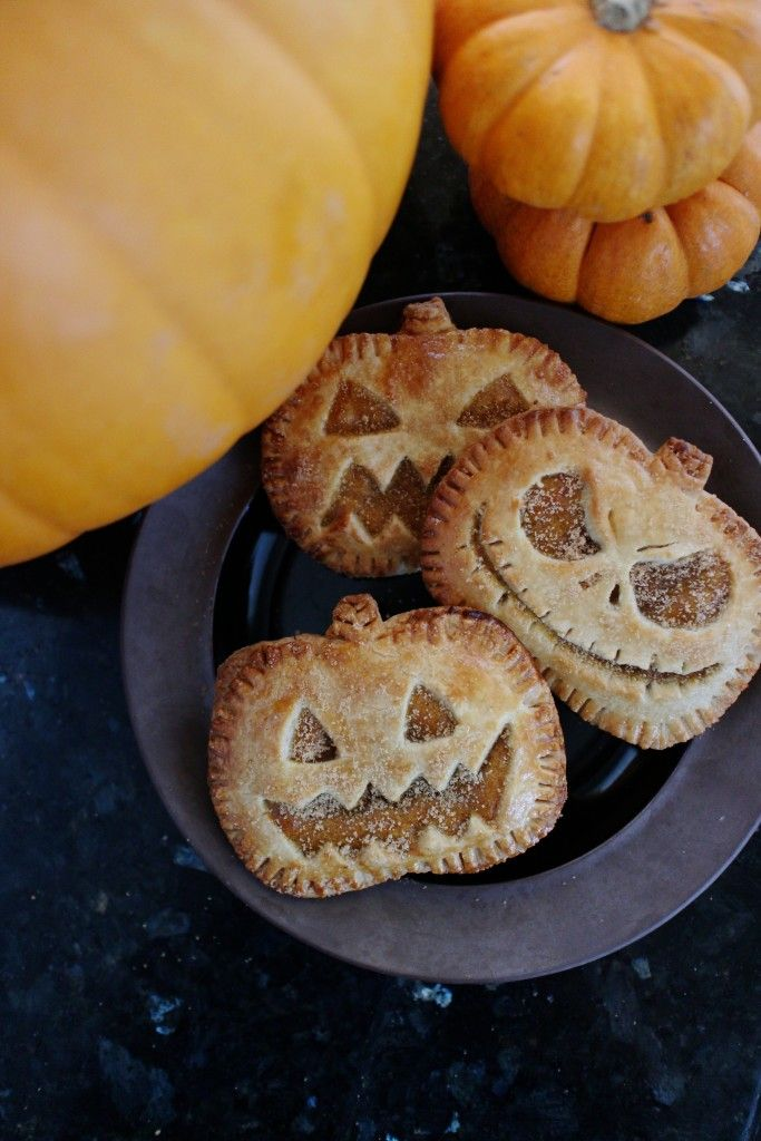 jack-o-lantern Halloween hand pies.  You've just said two of my favorite words!