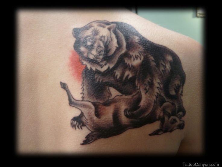 California Bear Tattoos Traditional bear tattoo by ...