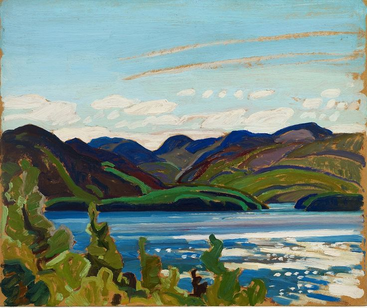 Franklin Carmichael, Cranberry Lake, Ontario, oil on multi-ply paperboard, 25.3 x 30.3 cm, The Thomson Collection © Art Gallery of Ontario