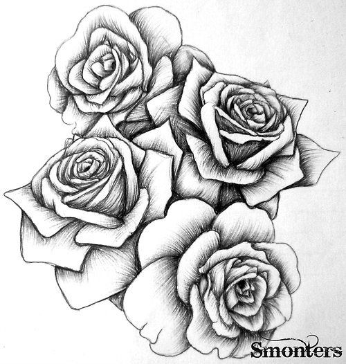 30 best flowers images on Pinterest Flower drawings Drawings