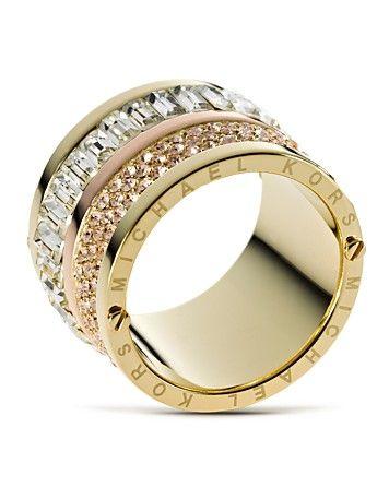 Michael Kors Barrel Ring | Bloomingdale's