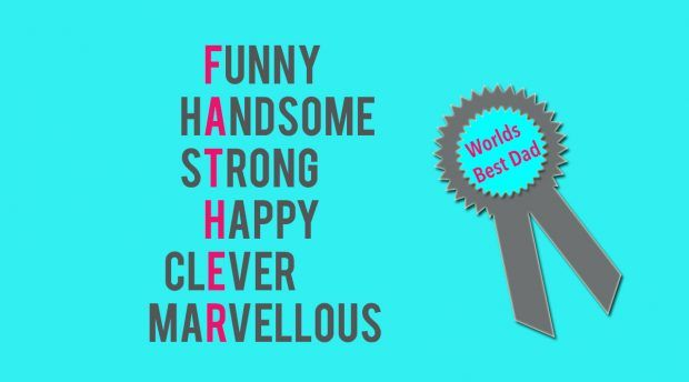Funny Handsome strong Happy Clever Marvellous  #fathersday #quotes