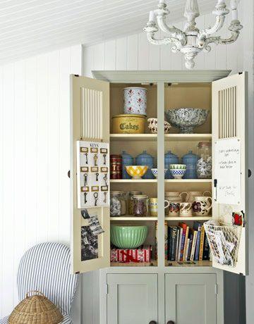 Merveilleux Ten Cool Kitchen Storage Ideas. Armoire As A Cupboard. #armoire #storage