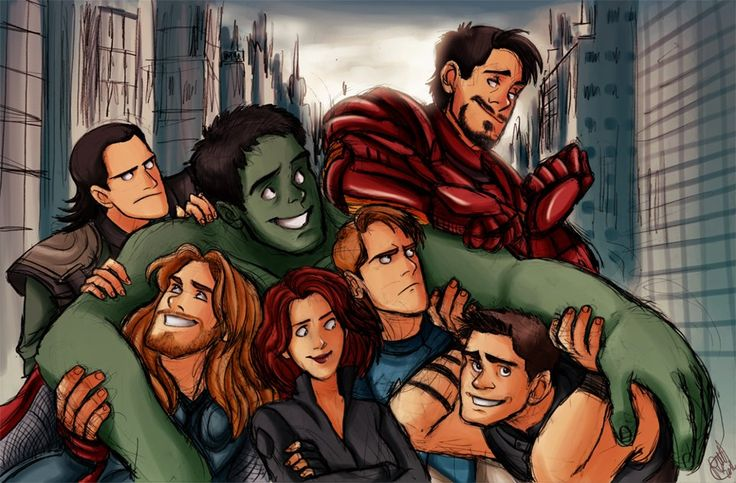 The Avengers Fan Art - the-avengers Fan Art