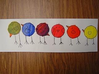 shape birds!  Mrs. T's First Grade Class: Art