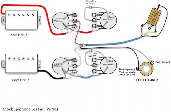 Epiphone Probucker Wiring Diagram | Les paul guitars, Les paul, EpiphonePinterest