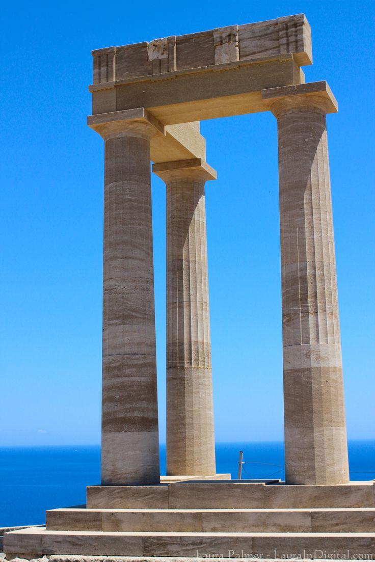 #Lindos, #Rhodes, #Greece
