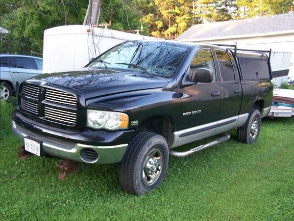 2004 dodge ram 2500 4×4 with plow (lockport) $6500