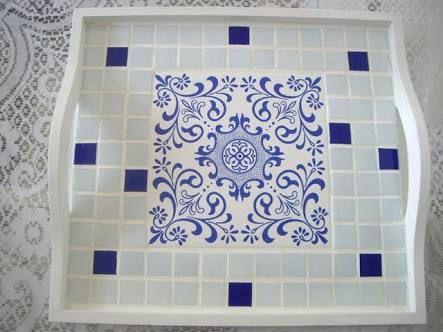 bandeja em mosaico - חיפוש ב-Google