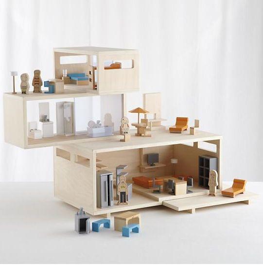 puppenhaus holz google suche modell pinterest suche. Black Bedroom Furniture Sets. Home Design Ideas