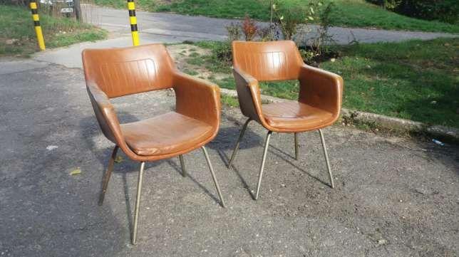 Krzesło / fotel muszelka design PRL Sosnowiec • OLX.pl