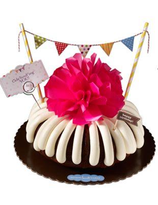 Best Birthday Bundts Images On Pinterest Nothing Bundt Cakes - Bundt birthday cake