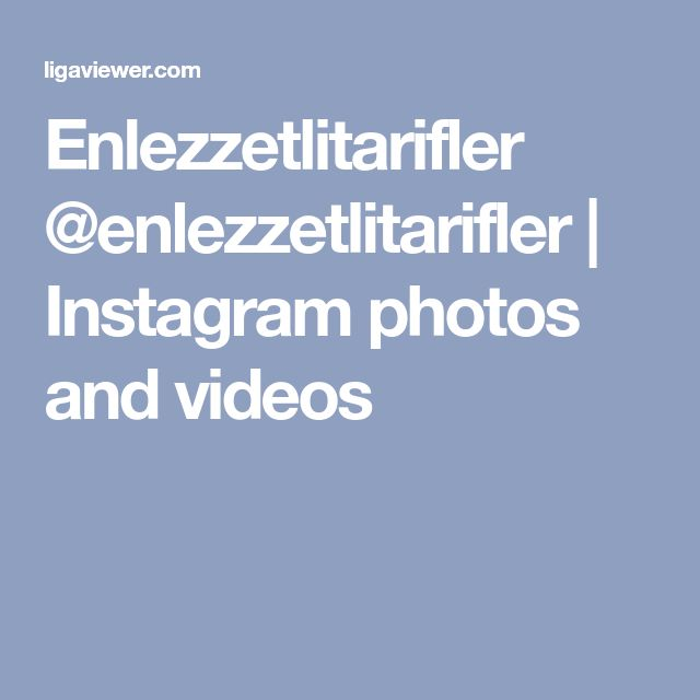 Enlezzetlitarifler @enlezzetlitarifler | Instagram photos and videos