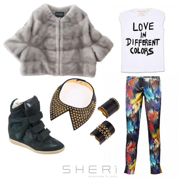 Resta sempre aggiornato sulle ultime novità #furfashion della stagione #autunnoinverno 2014-2015 www.sheri.it #SHERì #outfit #fur #fashion #fashionweek #white #totalwhite #handmade #madeinitaly