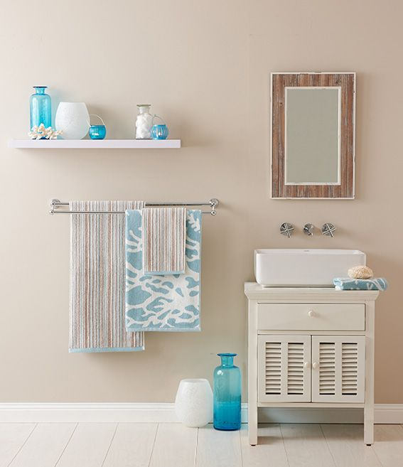 create a bathroom oasis with coastal inspired colours and decor bedbathntable