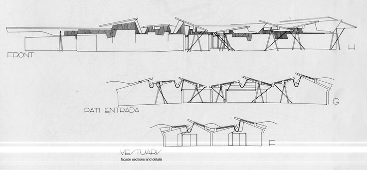 Image 16 of 17 from gallery of AD Classics: Olympic Archery Range / Enric Miralles & Carme Pinos. Courtesy of the Architects