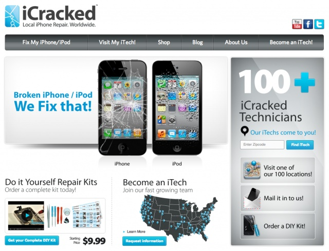 iCracked Takes On The Geek Squad With Worldwide Local iPhone Repair