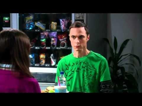 HAAHAHAHA!!! Funniest clip from The Big Bang Theory    Season 4 Episode 3