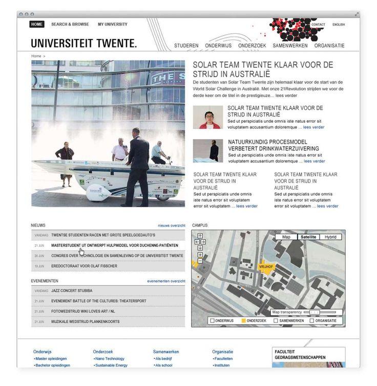Studio Dumbar: University Of Twente Visual Identity