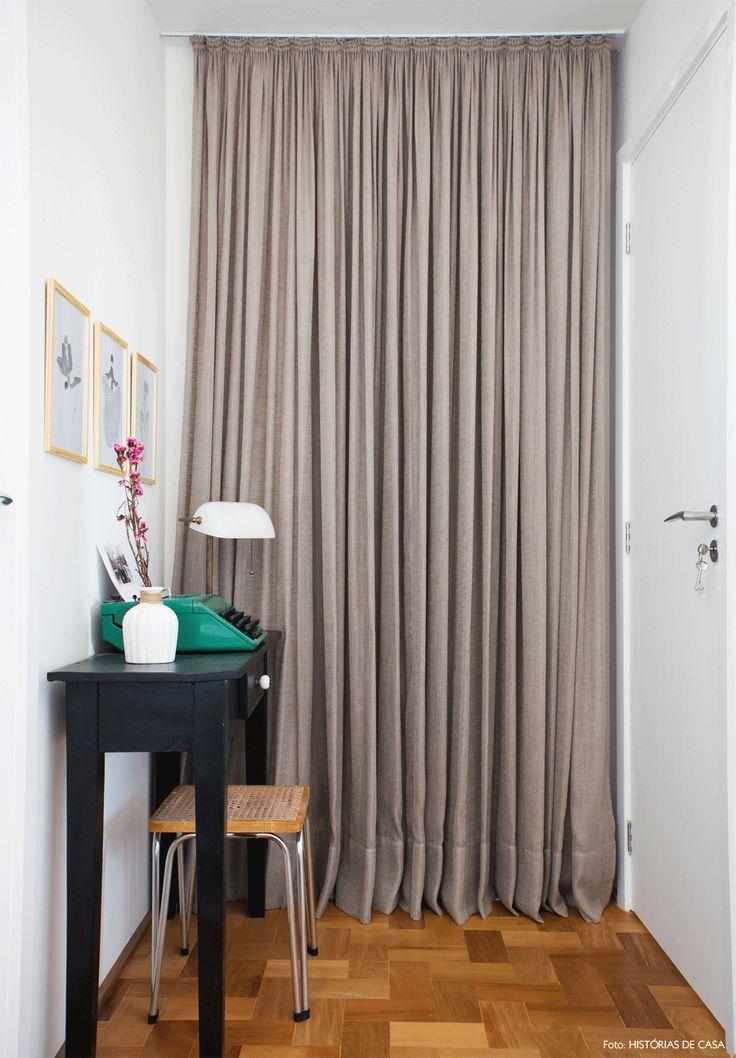 1000 ideias sobre cortinas de linho no pinterest for Bases para colgar cortinas
