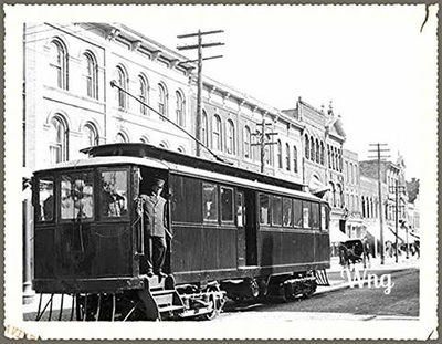 The Estelle was the streetcar that ran between Woodstock and Ingersoll.