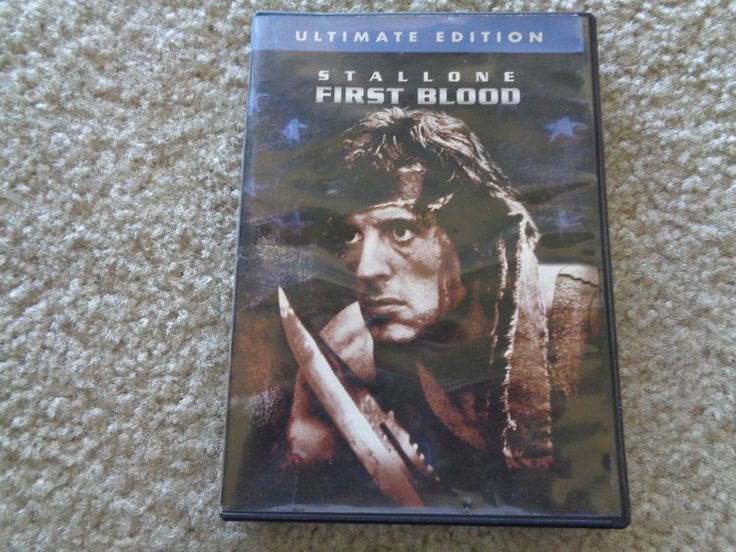 First Blood (DVD 1982 Ultimate Edition) Sylvester Stallone Movie