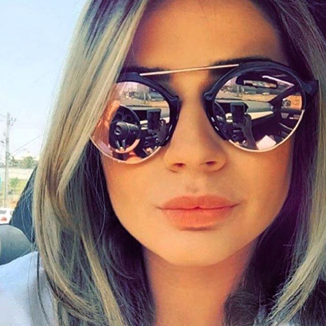Тенденция: зеркальные солнцезащитные очки 6