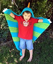 $4.99 Pattern on Ravelry - I would SO pay for this pattern if someone ordered it! I know I can do it because I've done similar items before. :) They use felt for the claws, but I'm not sure why. I would crochet them, myself. This is so fun!!!