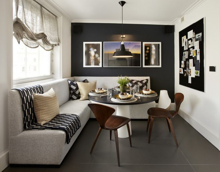 Transitional Dining Room By Helen Green Design