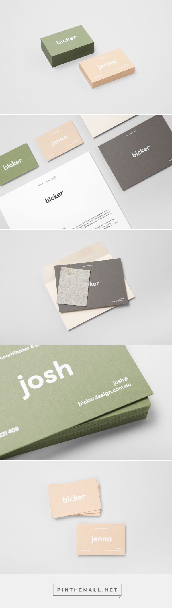1236 Best Business Card Images On Pinterest Corporate Identity